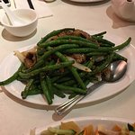 Stir fried green bean with meat