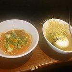 Mollete y vegetal