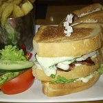 Club sandwich main course