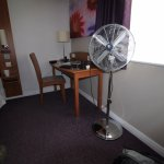 The cool air facilities for the room......