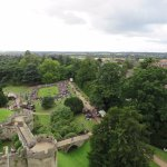 The view from the battlements