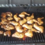 Real Jamaican Jerk Chicken Fresh Off The Grill