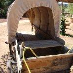un chariot de pionnier
