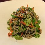Soba Noodle and Baby Arugula Salad