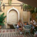 Espaços contíguos ao hotel - jardim