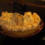 Very artistic-looking lemon meringue pie.