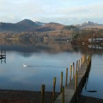 Derwentwater, jetties near Keswick
