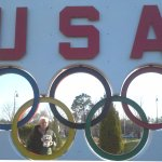 """The Old """"Olympic wall"""" which is sadly no more!"""
