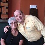 """Phyllis & our """" friend"""" Enrique Alos"""