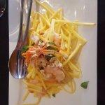 Shrimp Mango salad...so fresh!