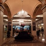 Lobby--chandeliers are fabulous