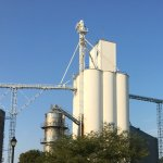 Grain storage in Utica! Again! Small town with a lot going on! Have lunch at Duffey's tavern