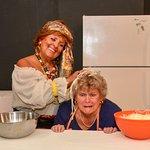 Kathleen Barney and Paula Keenan in Cookin' with Gus