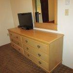 Dresser and TV in bedroom