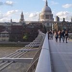 St. Paul's Cathedral, London seen from Millennium Bridge
