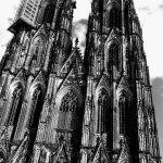 Blick vom Cafe auf den Kölner Dom