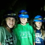 Spelunkers having fun!