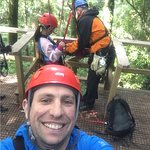 Hanging out the the Rotorua Canopy Tours crew!!