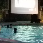 Kids night time Dive-In movie.