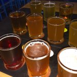 Canal Park Brewery... Get the Flight of Beers!