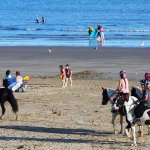 Horses on beach, Porthcawl