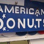 Donut stall in Coney beach, Porthxawl