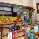 Salad + Juice Bar. Wholefood Cafe.