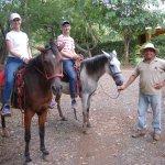 Horseback riding at nearby Playa Negra