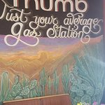 Tom's Thumb has a gas station and great car wash and detailing shop