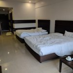 Our four bedded room