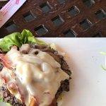 Mushroom Bacon Cheeseburger Protein Style