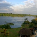 View of Victoria Nile from the balcony