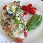 Vegetarian Omelet. $13.00