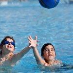Kid's pool activities