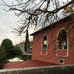 Крыша террасы Restoran Loggia - COSLOVICH, Oprtalj (Опрталь), Croatia.