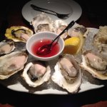 10 BC Read Island Oysters, raspberry mignonette and freshly grated horseradish
