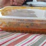 un tikka massala, mini portion (pas encore ouvert)