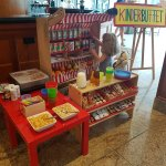 Kinderbüffet beim Frühstück