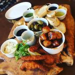 Platter for two from the Huntman's Lodge