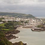 Ilfracombe from a nearby hill