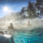 Winter in der Therme