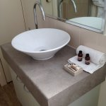 clean and well kept ensuite
