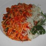 Spaghetti mit Meeresfrüchte