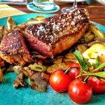 Steak vom Öhe-Rind.
