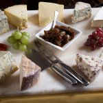 Don't miss our famous cheese board
