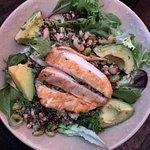 Supergrain Salad with Chicken - yum!!!