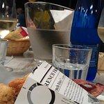 Mini frittura di pesce e Chardonnay DOP