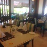 Restaurant on ground floor