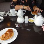Fresh croissants - the full cooked English breakfast was sensational