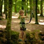 Parcours Enfant aux Parc des Grands Chênes Forêt de Villecartier